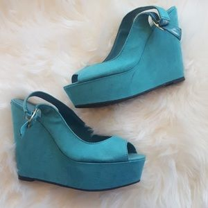 Shoes - TEAL WAGES SHOES HEELS